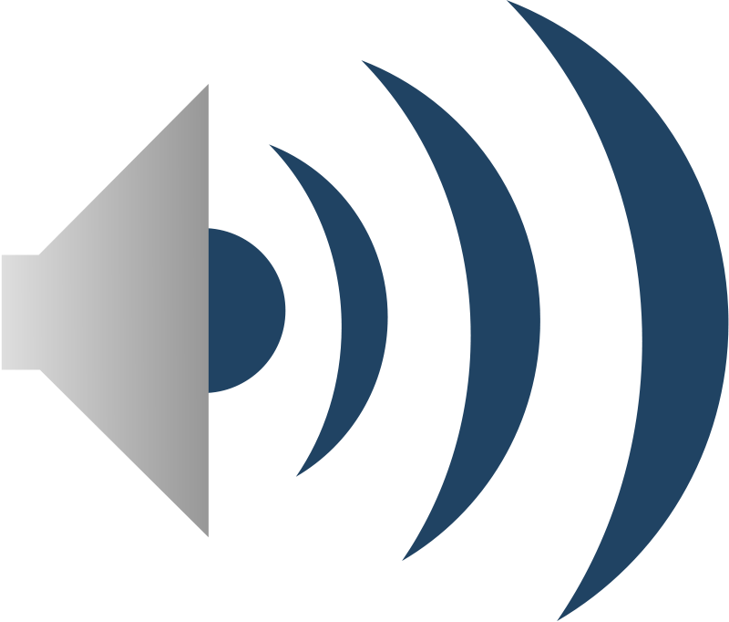 icon for audio