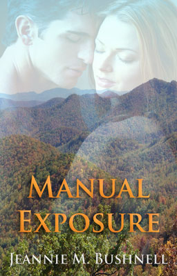 book cover for New Adult Romance Manual Exposure Jeannie M. Bushnell