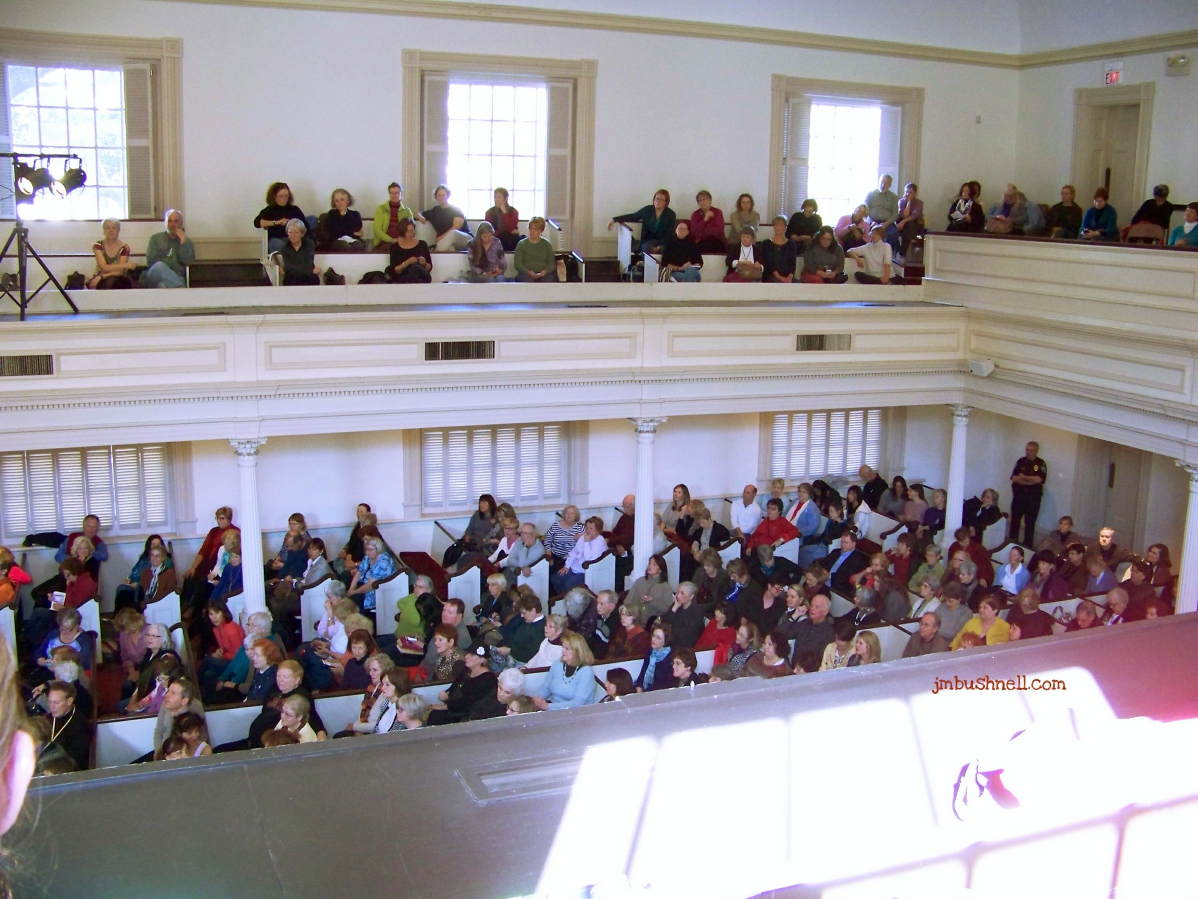 Anita Shreve audience at the Savannah Book Festival