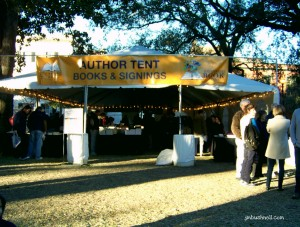 Savannah Book Festival Author Tent