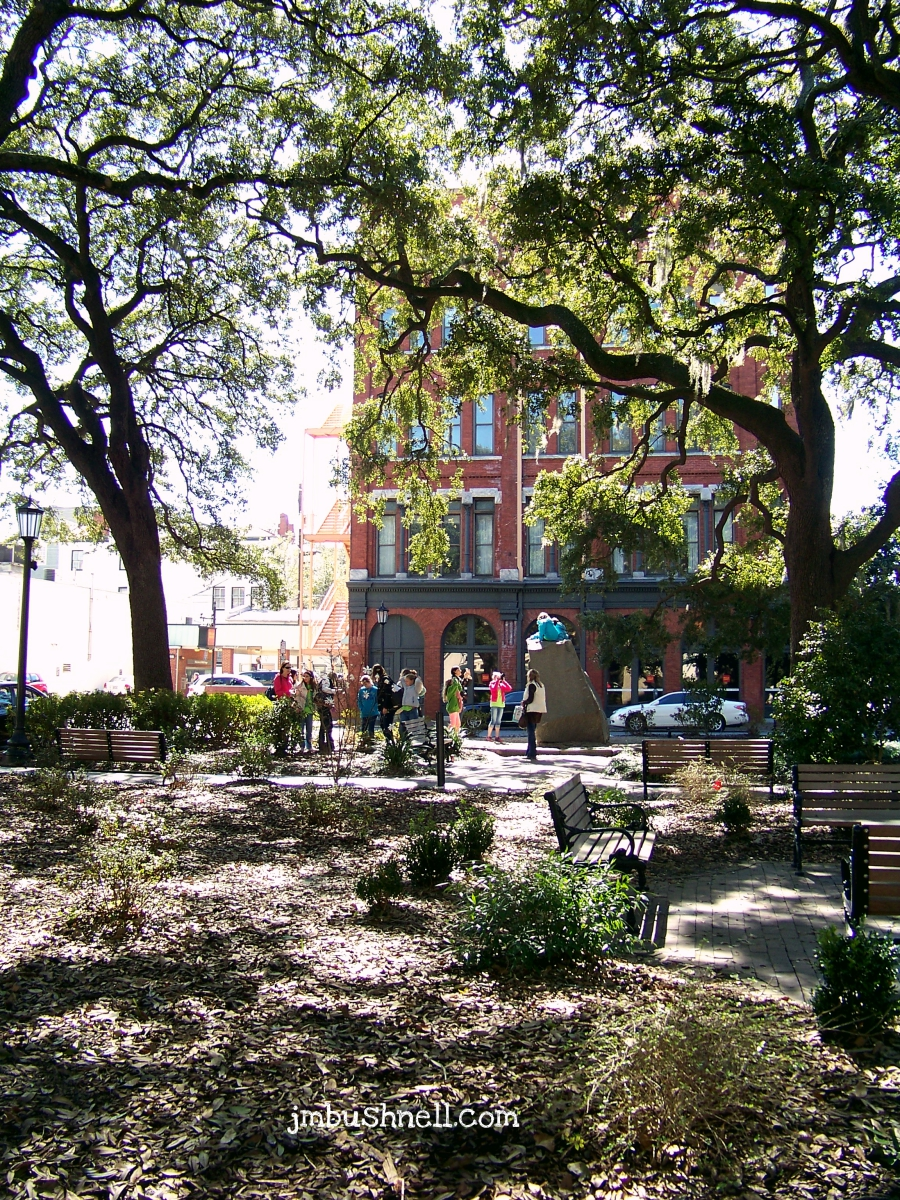 Sit a Spell in Savannah, Georgia
