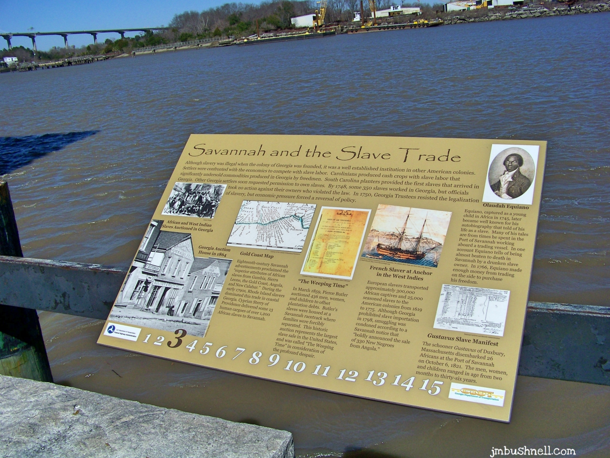 Savannah Georgia and the Slave Trade