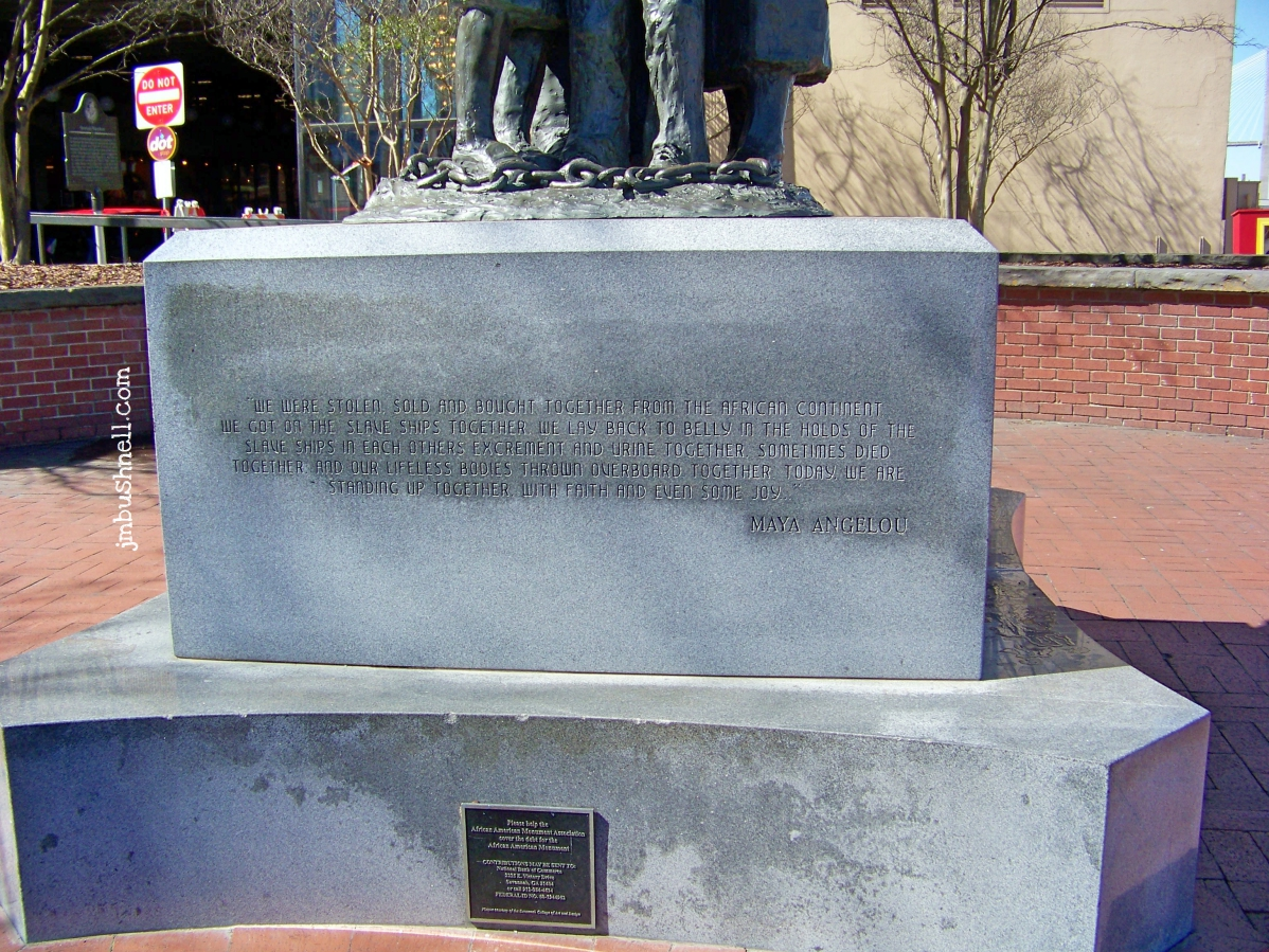 African American Monument Inscription