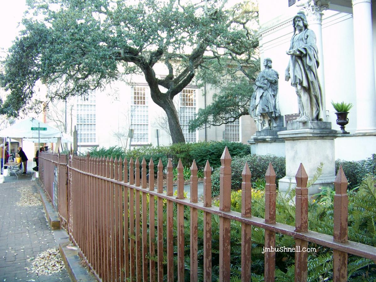 Telfair Museum of Art Fence