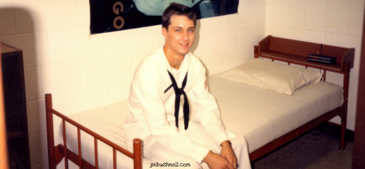 Jeannie's husband in the U.S. Navy
