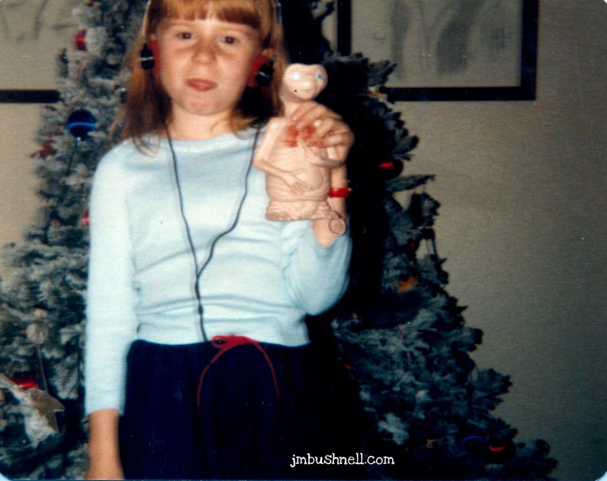 Jeannie Bushnell with Walkman
