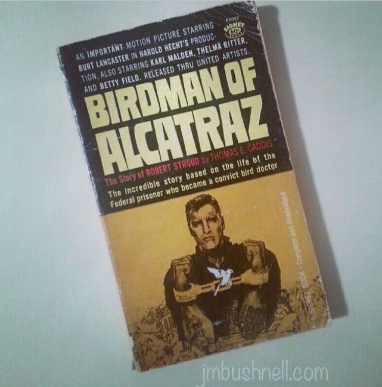 The Birdman of Alcatraz book cover