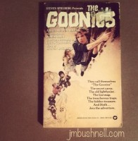 The Goonies book cover