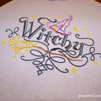 withcy embroidery art