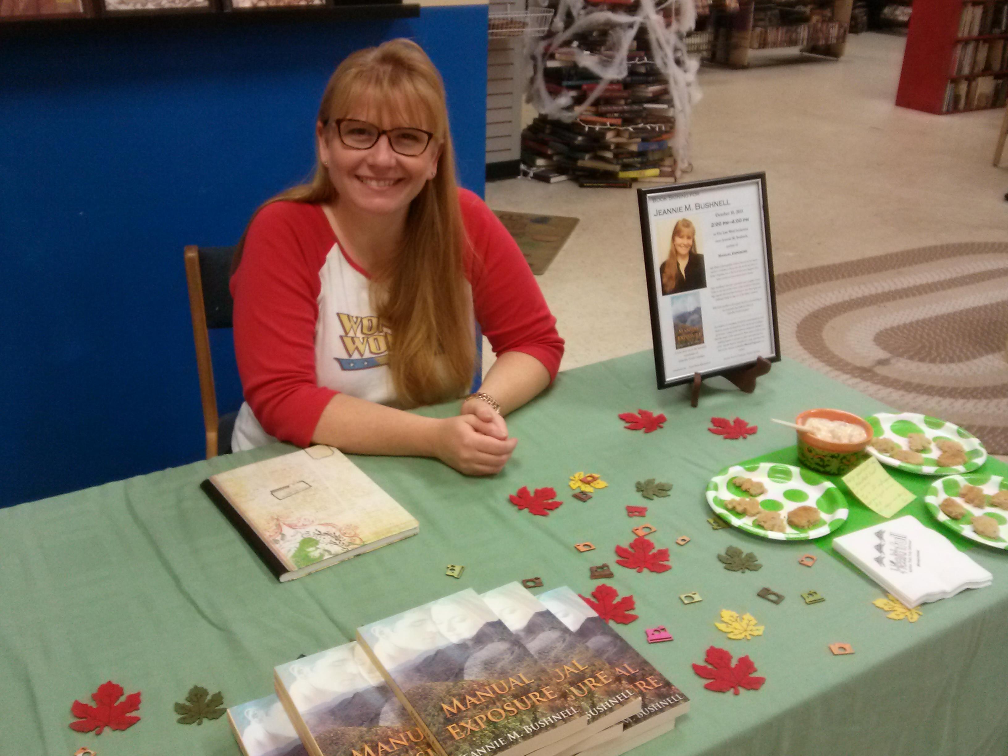 jeannie m bushnell book signing
