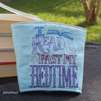 I read past my bedtime cozy.