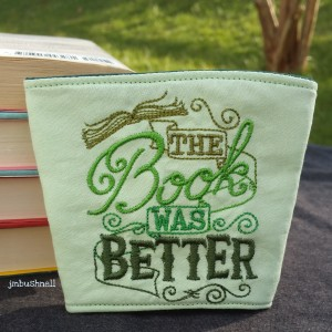 The Book Was Better Coffee Cozy