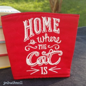 home is where the cat is cozy