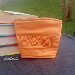 Woof Cozy to Go Cup Wrap