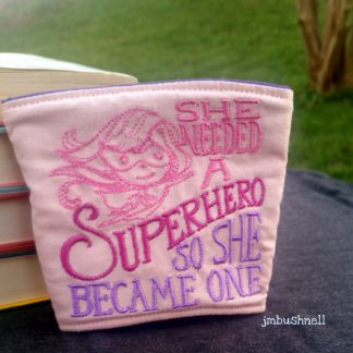 She Needed a Superhero Cozy to Go