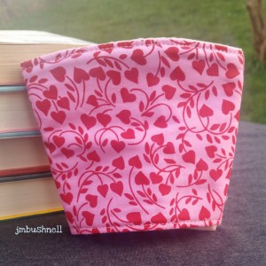 Heart Blooms Cozy to Go Cup Wrap