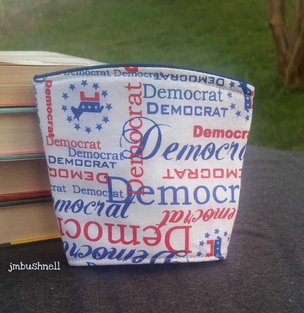 Democrat Cozy to Go Cup Wrap