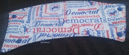 Democrat Cozy to Go Cup Wrap Front Flat