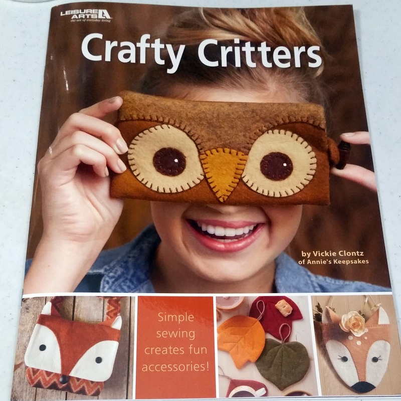 Crafty Critters Book Cover