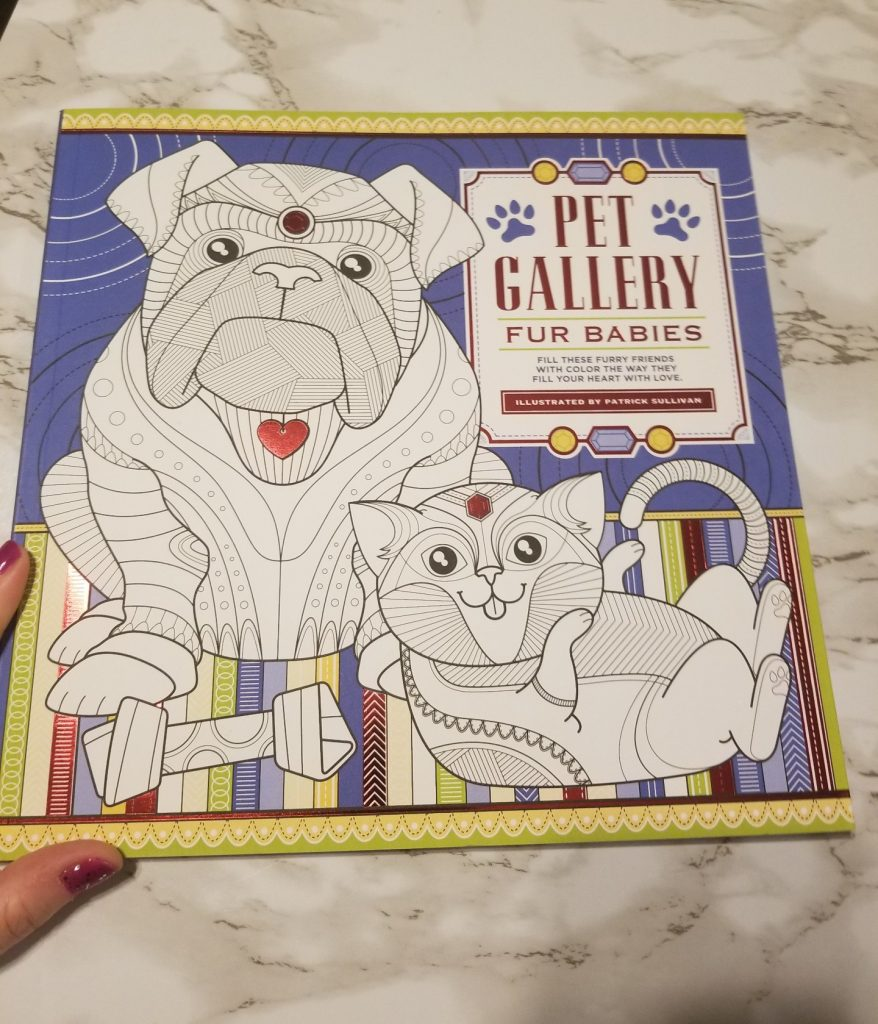 Pet Gallery Fur Babies Color Book